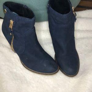 Navy Blue Winter booties